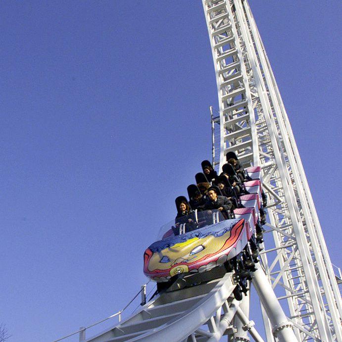 World's Fastest Rollercoaster in Japan