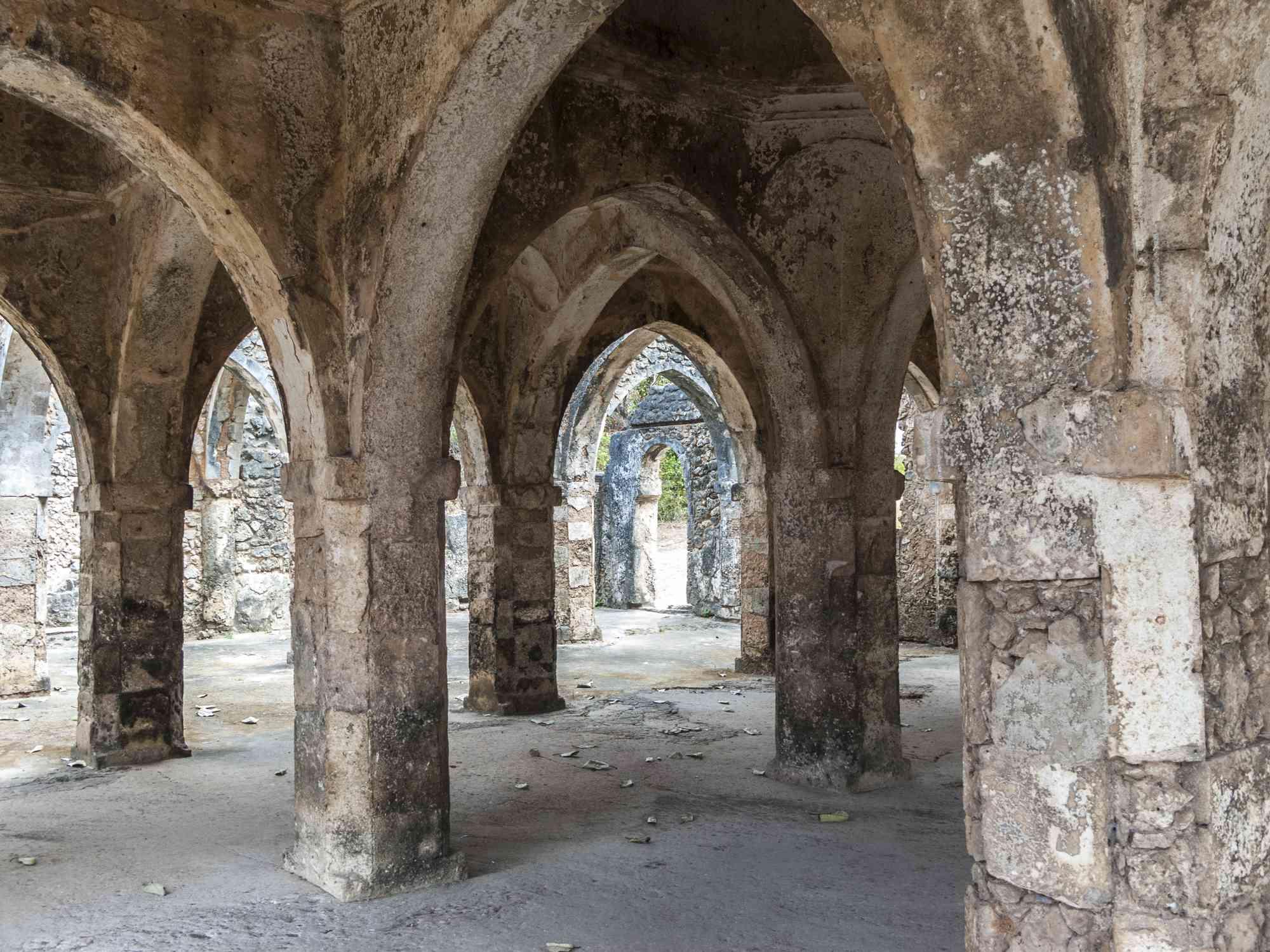 Ruins at Kilwa Kisiwani, Tanzania