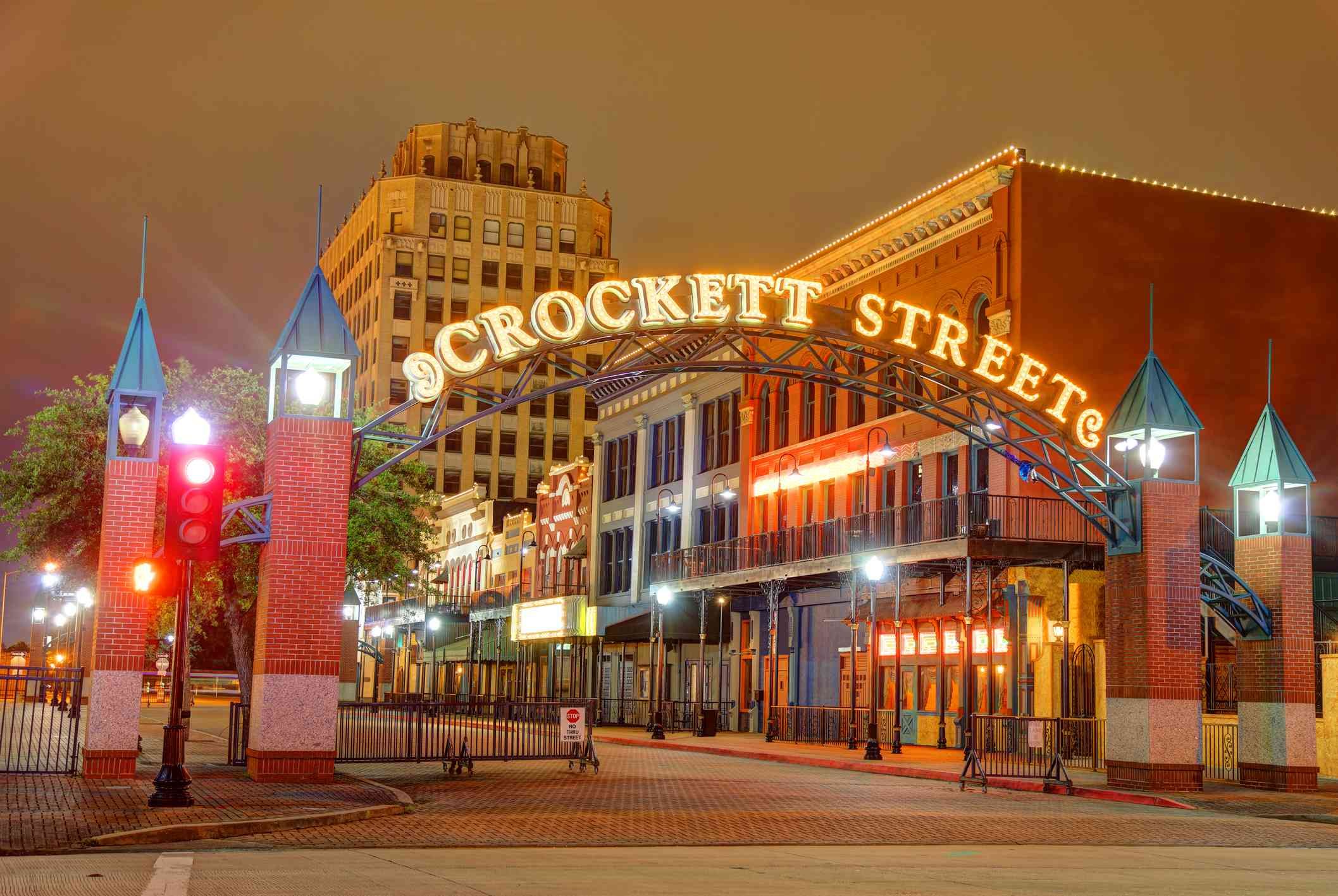 Crockett Street in Beaumont Texas