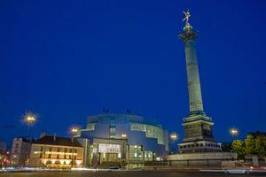 Opera Bastille and the Colonne de Juillet