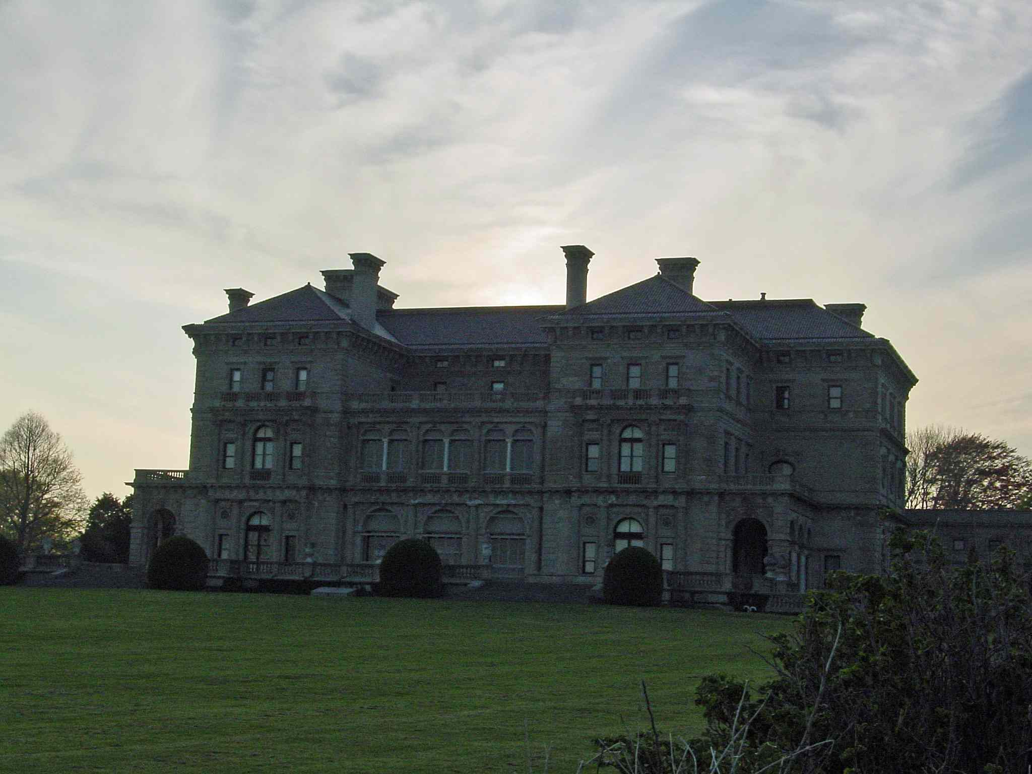Photo of The Breakers Mansion on Newport's Cliff Walk