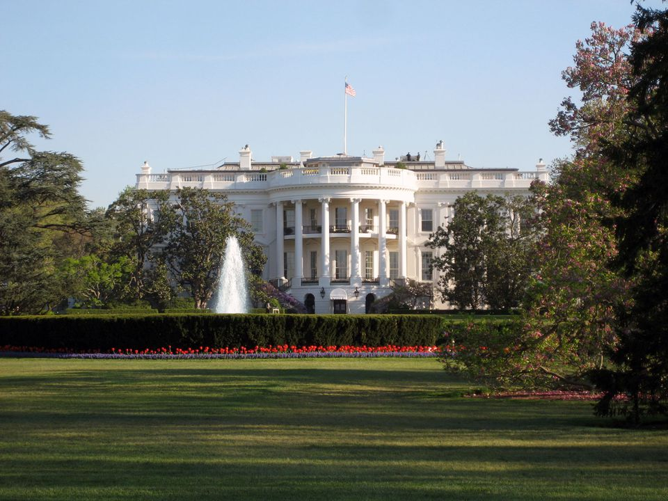 Exterior Photo Of The South Portico White House