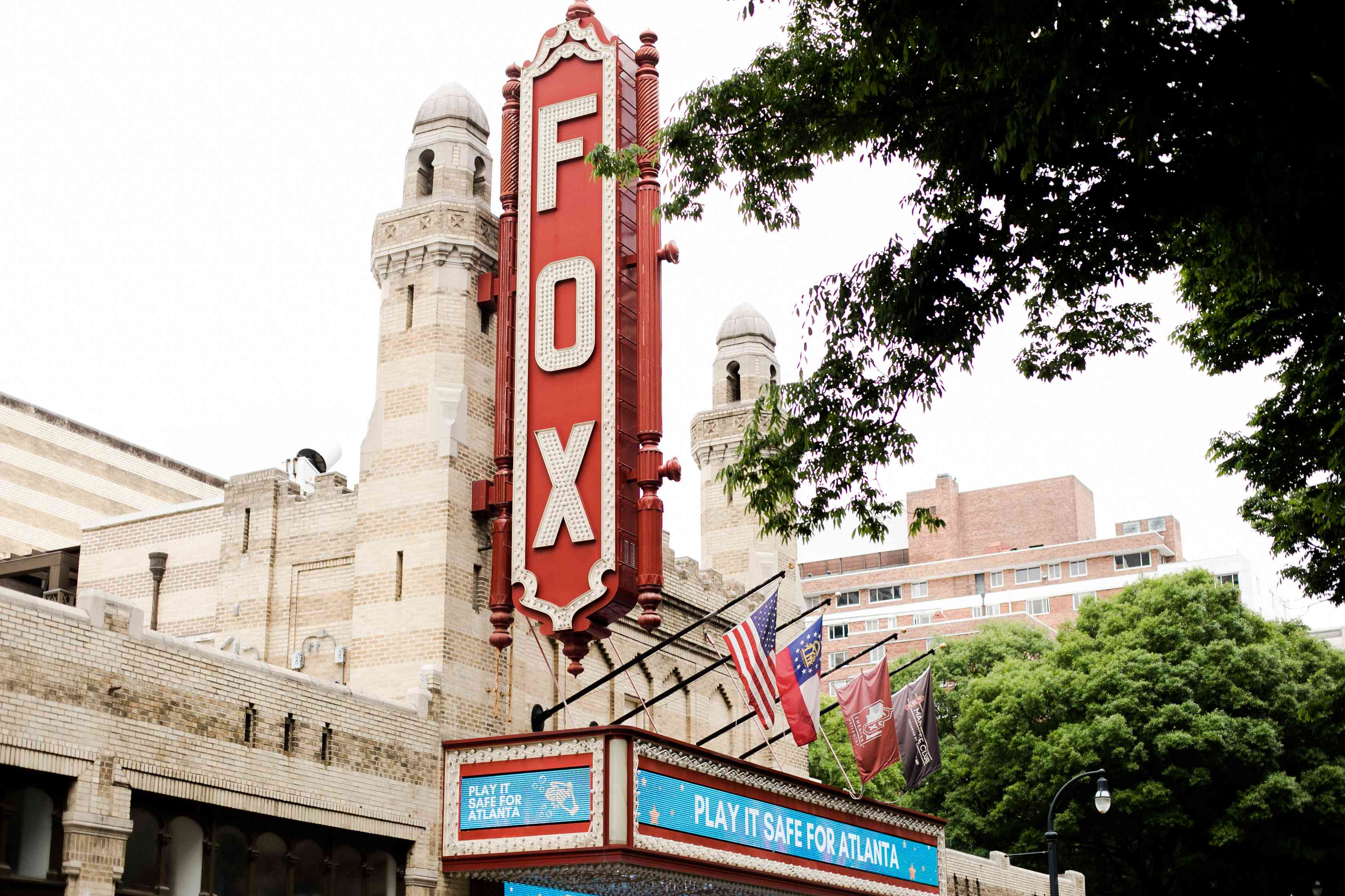 Fox Theatre in Midtown Atlanta, GA