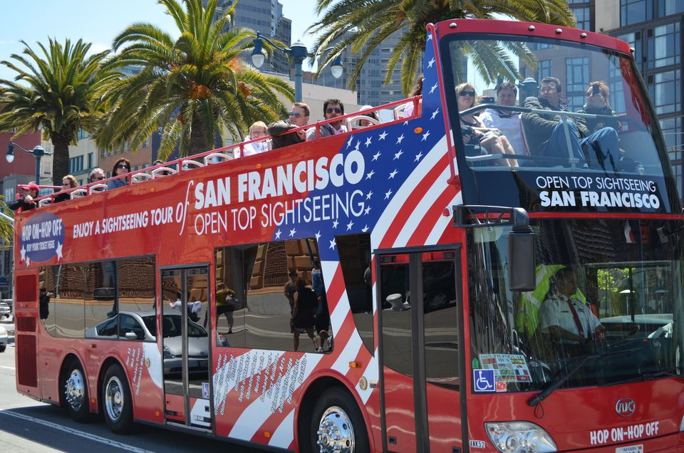 San Francisco bus tour