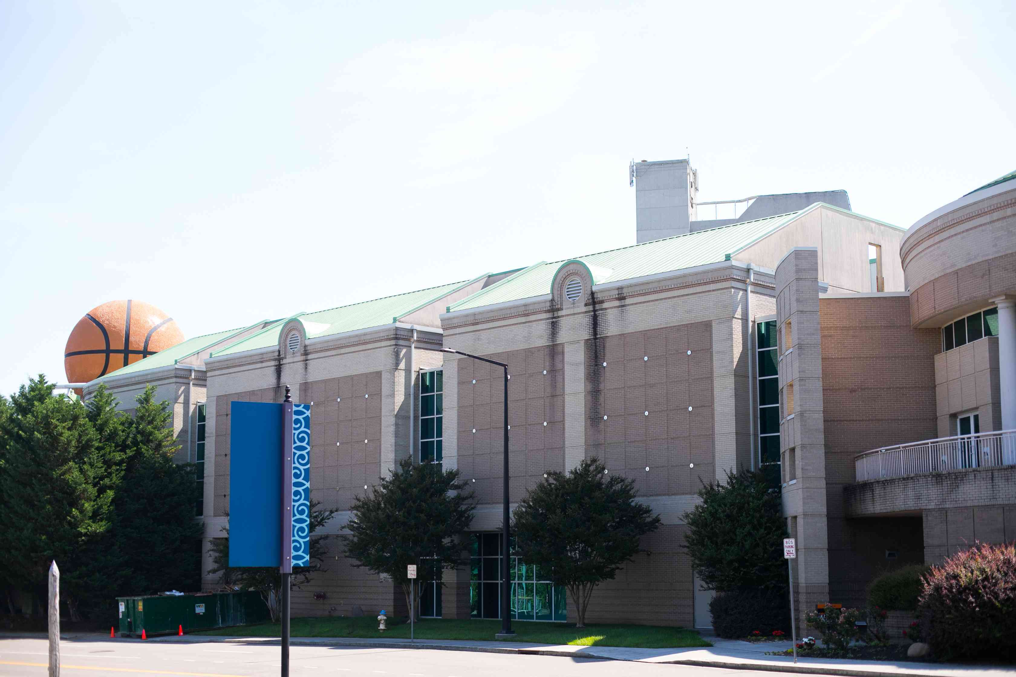 Exterior of the Women's Basketball Hall of Fame