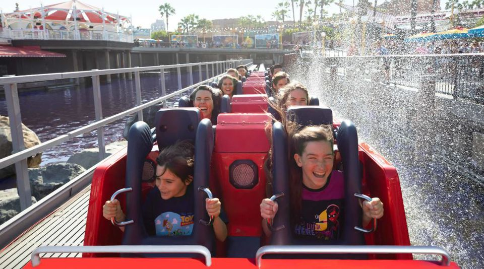people writing the Incredicoaster at Disneyland