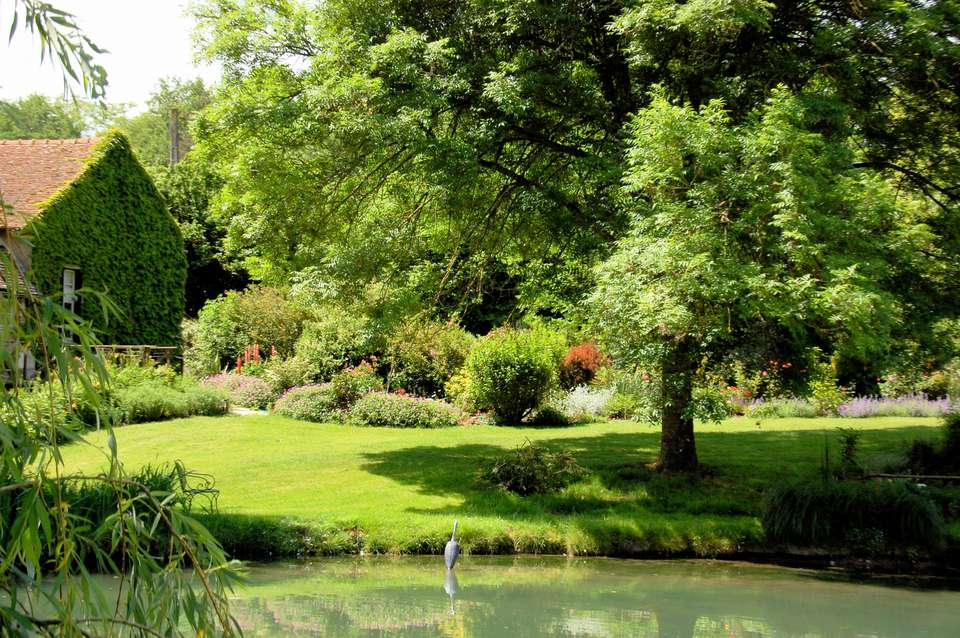 Jardín Le Moulin d'Echoiseau, Valle del Loira
