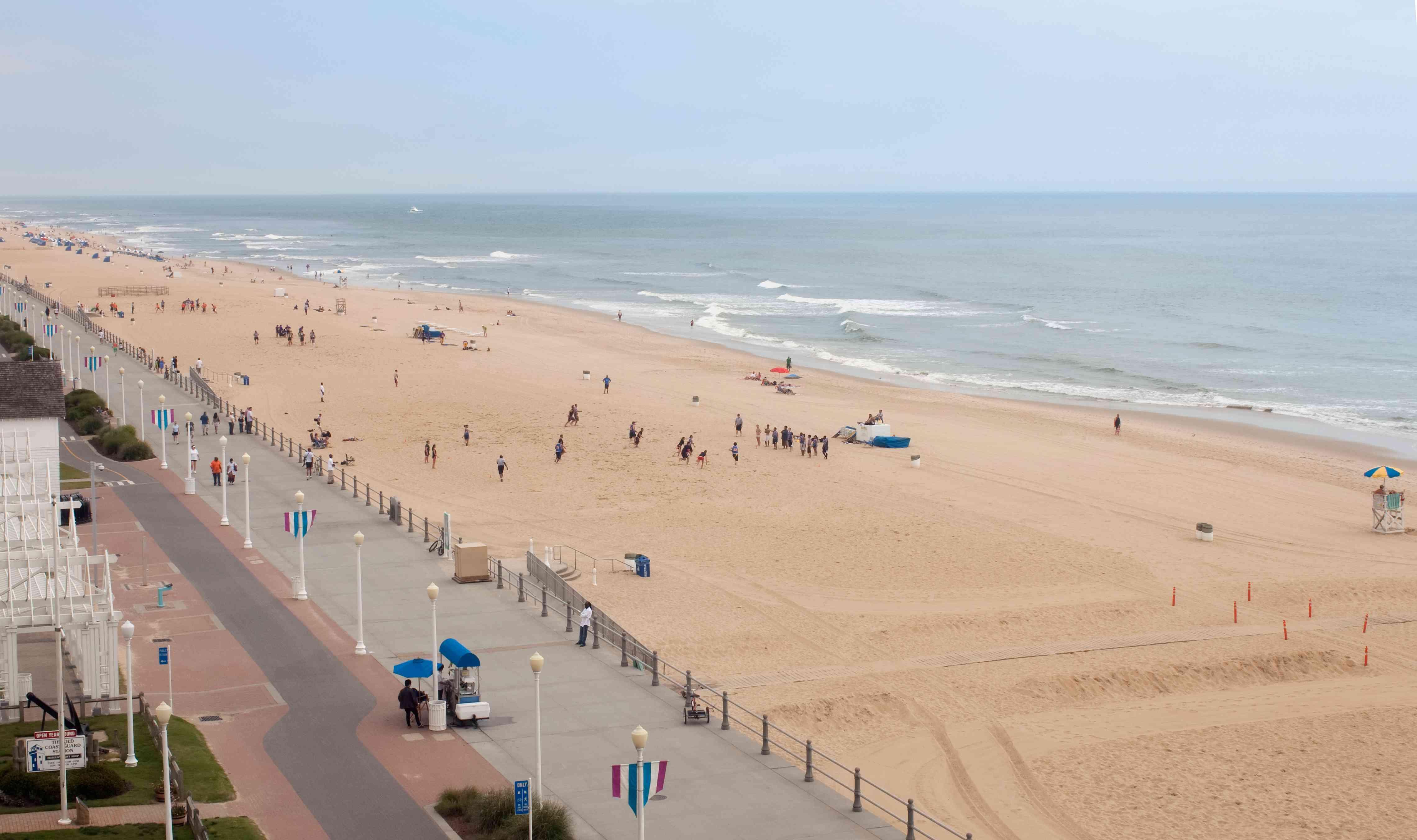 Boardwalk at Virginia Beach
