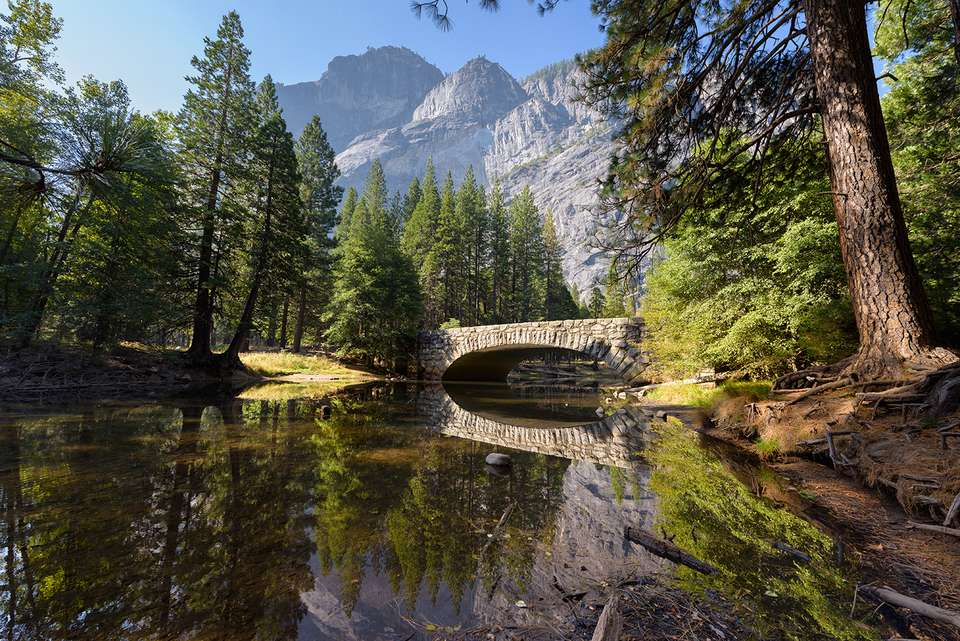 Merced River, Yosemite National Park, California, America, USA