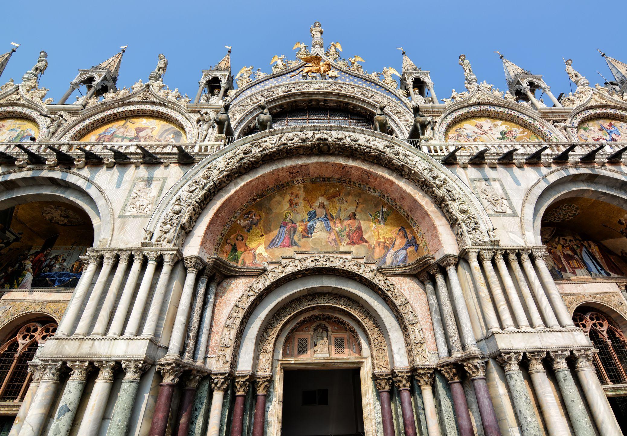 Exterior de San Marcos, Venecia