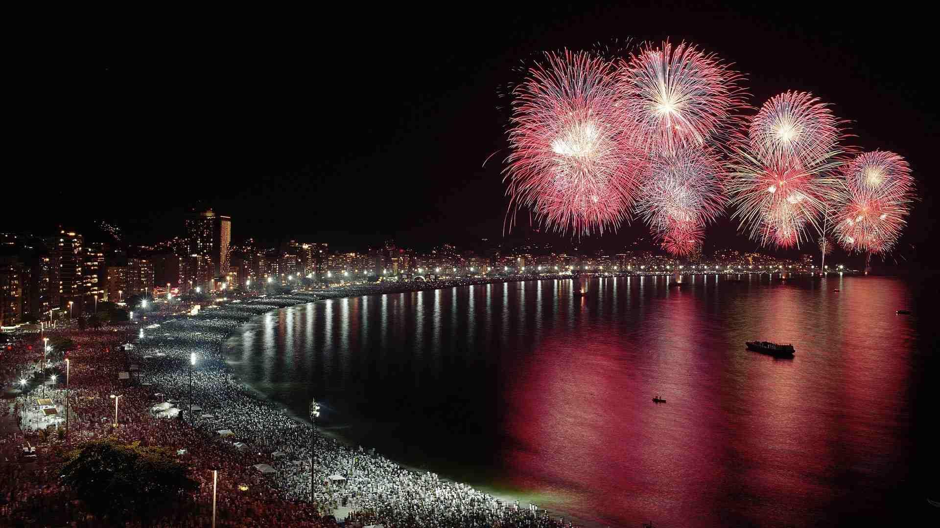 Fireworks at Longview Lake