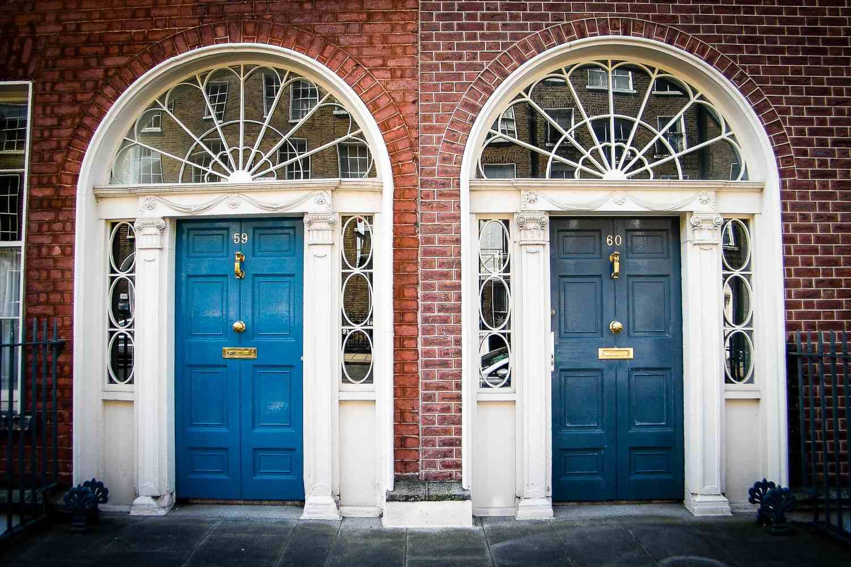 The Doors of Dublin - siempre material de buena imagen, y disponible en muchos artículos de recuerdo