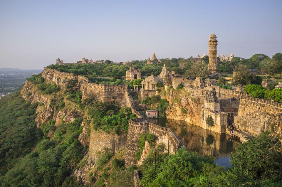 Chittorgarh Fort, Rajasthan.