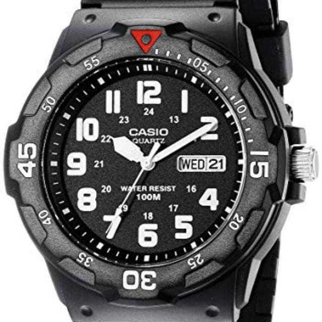 63e53c457 Best Budget: Casio Men's Sport Analog Dive Watch