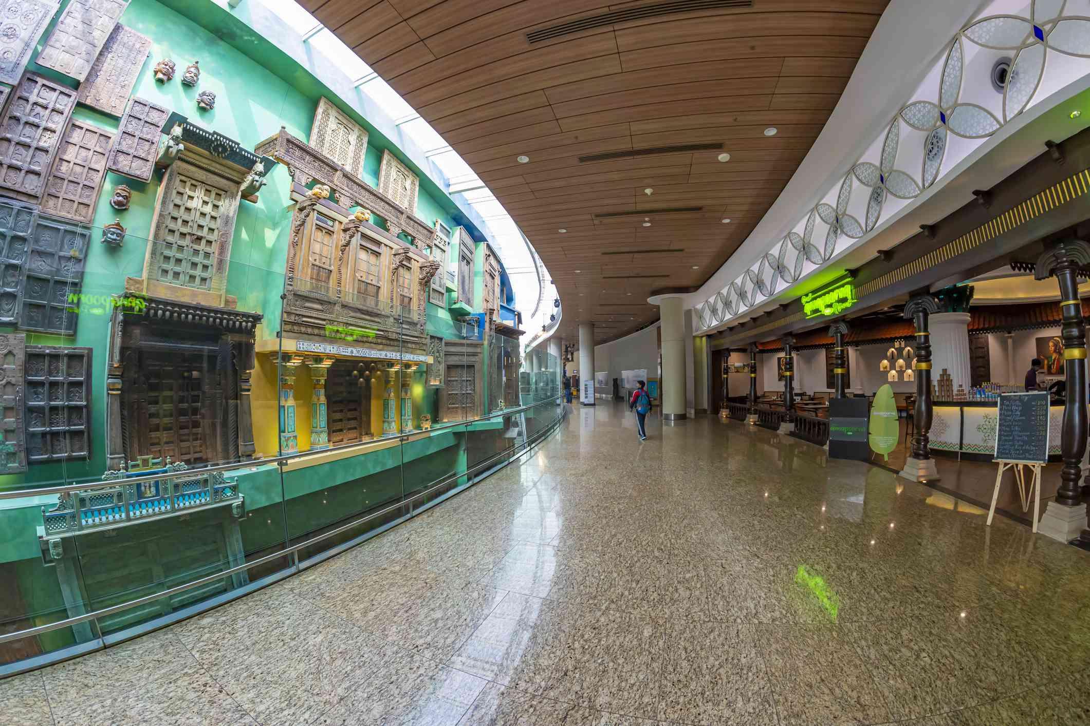 Mumbai airport museum.