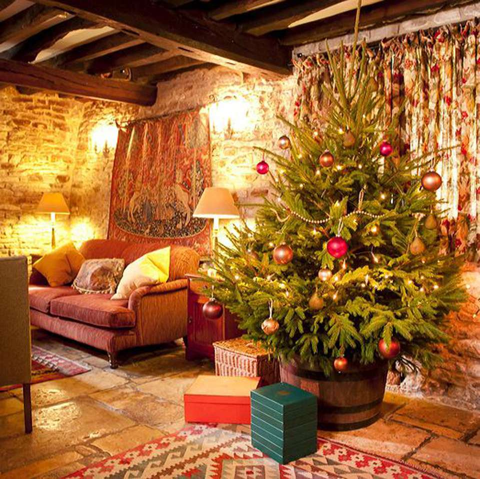 Old House Christmas Decorations: Best UK Country House Holiday Breaks For Christmas