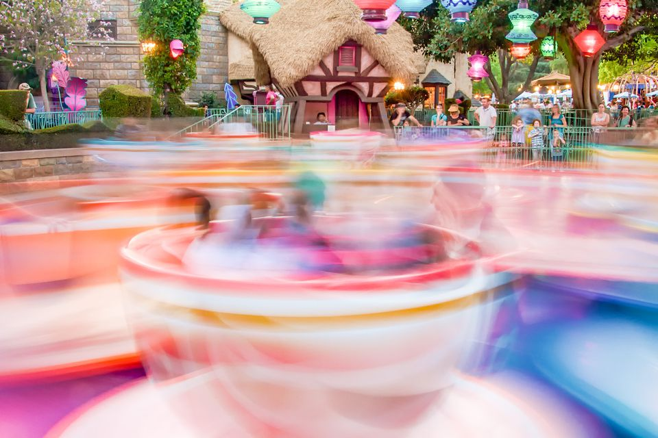 Mad Tea Party at Disneyland