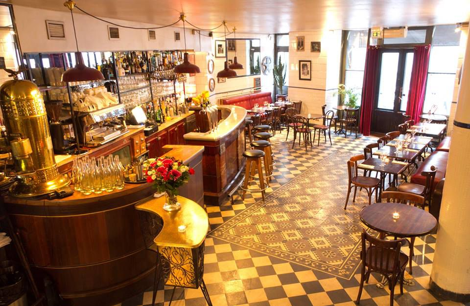 The Hotel du Nord bar and restaurant in Paris is a step back into a distant Parisian era.