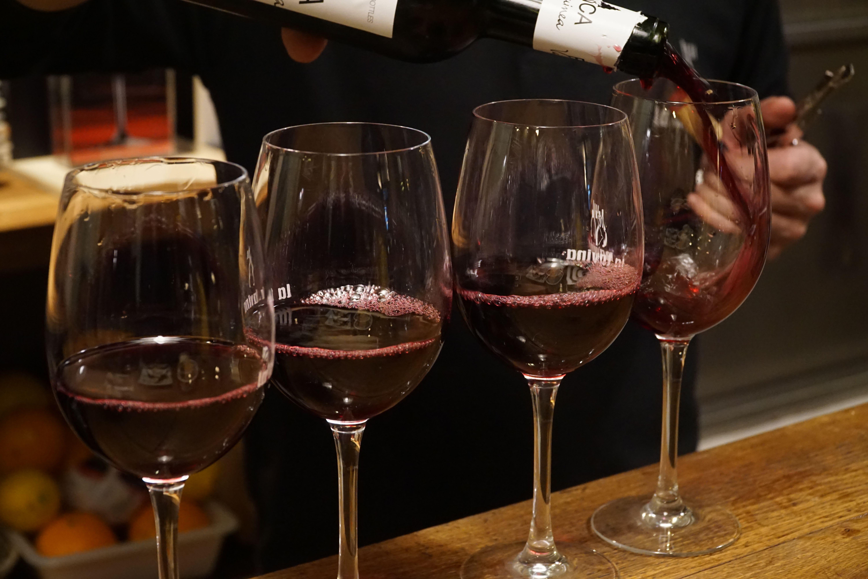 Wine flows freely in Logroño