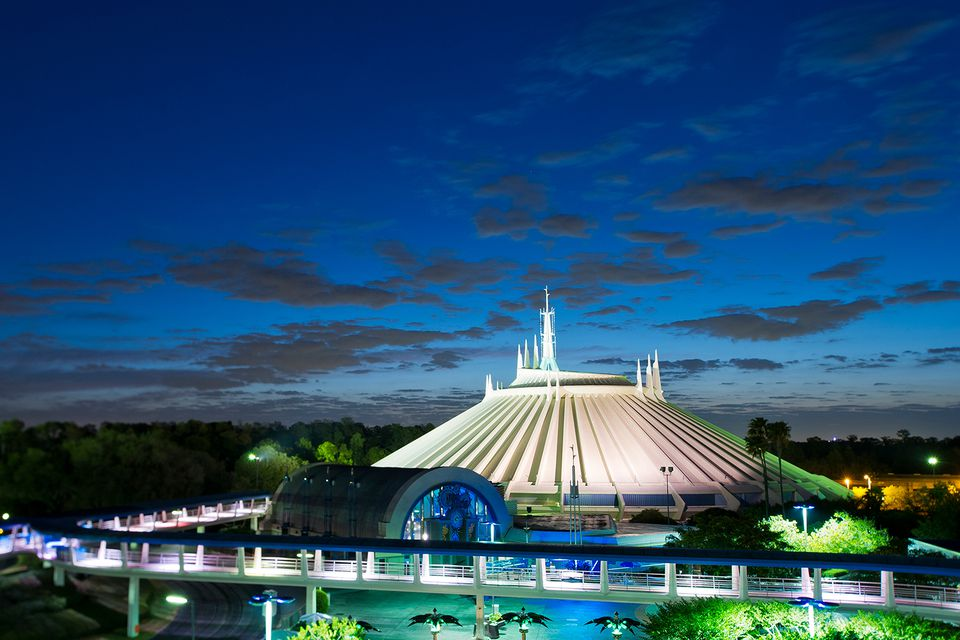 Space mountain Magic Kingdom