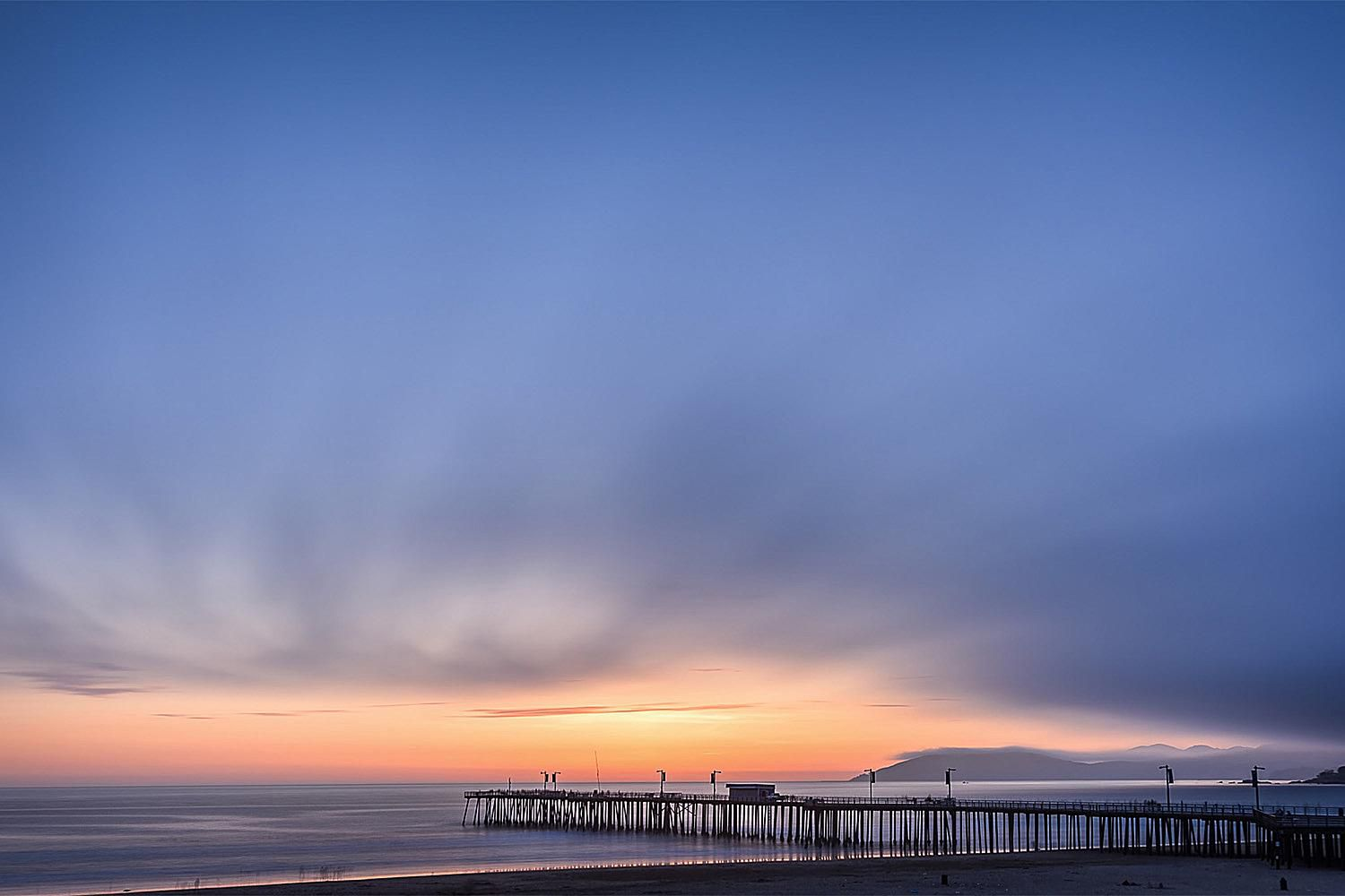 Sunset Over the Pismo Beach Pier