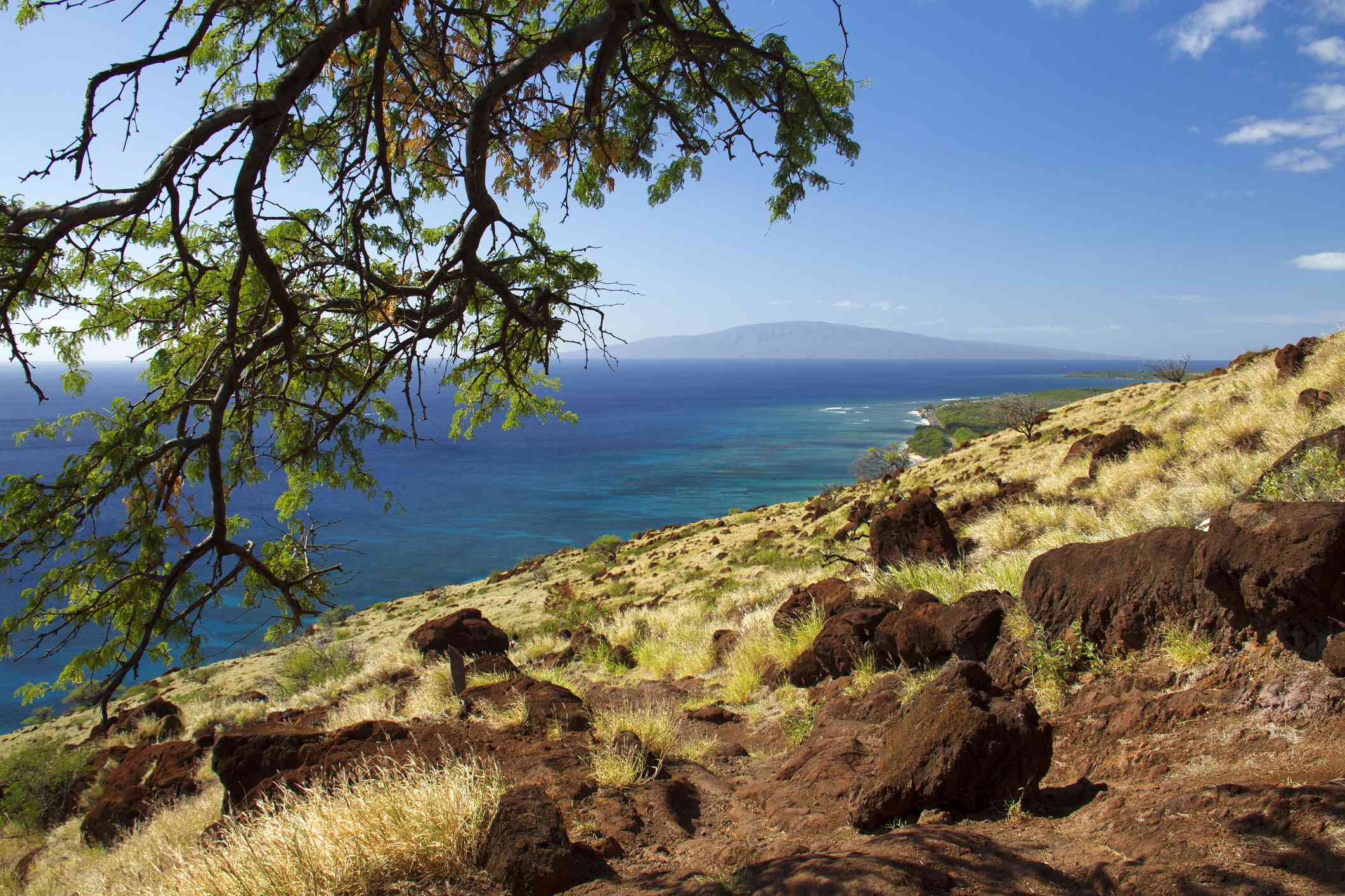 View from Lahaina Pali Trail