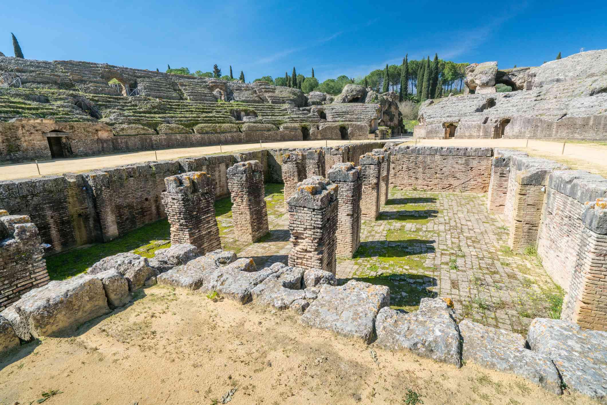 Italica Roman Ruins, Spain