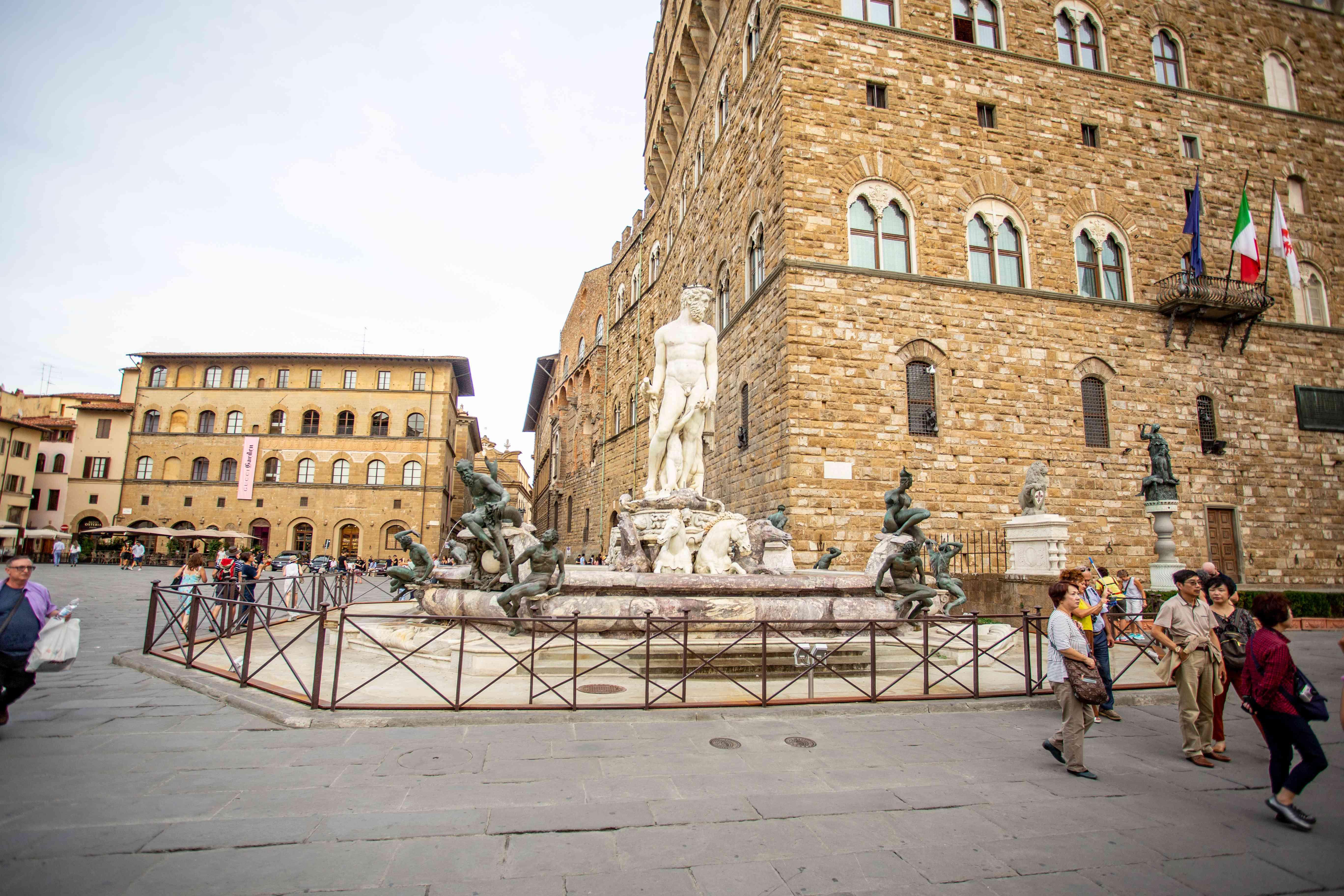 Piazza Della Signoria in Florence, Italy