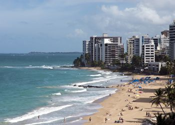 Beachfront hotels, Condado, Puerto Rico