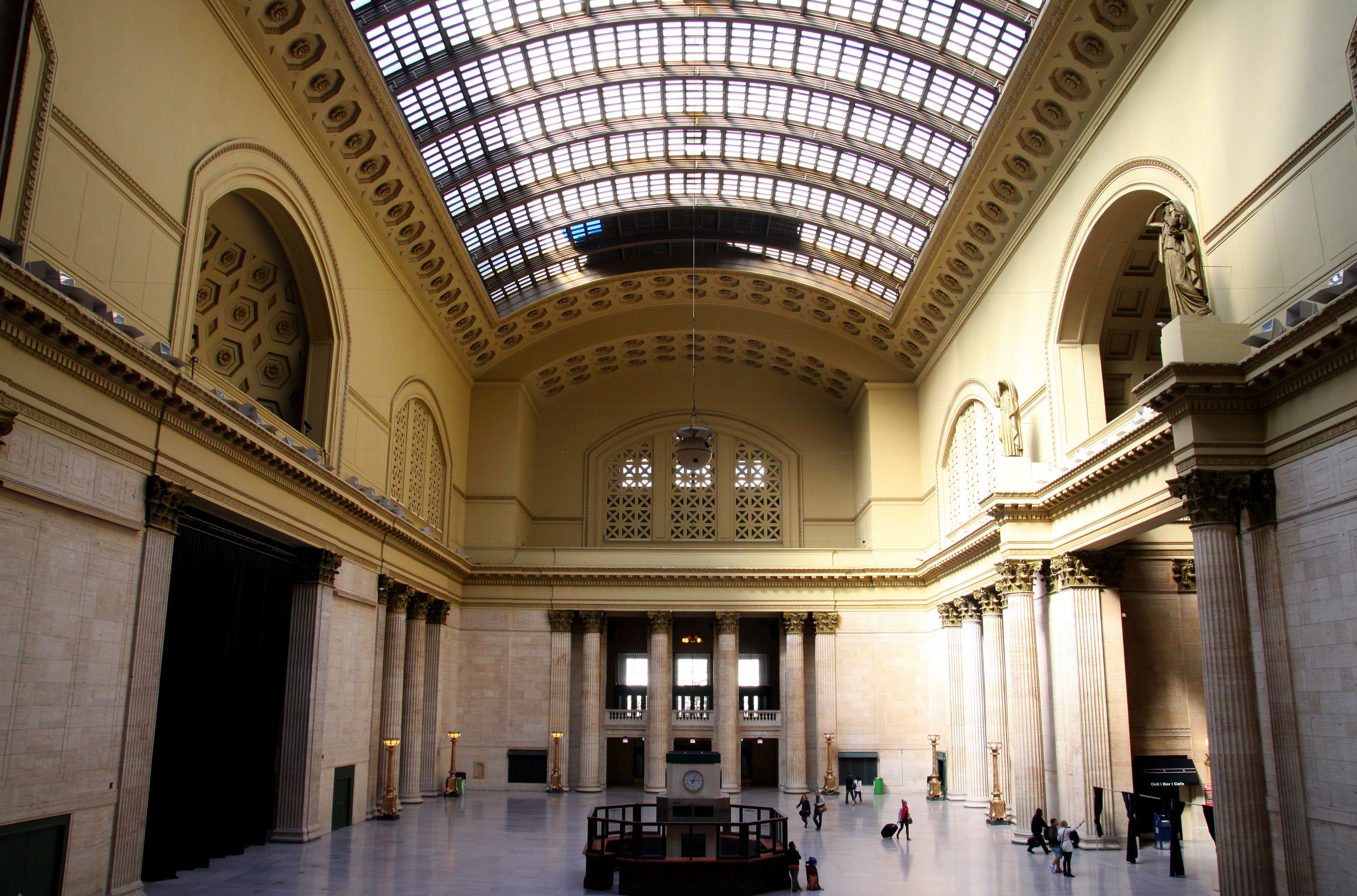 The Grand Hall at Chicago's Union Station