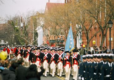 George Washington Parade in Old Town Alexandria
