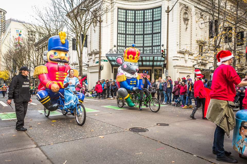 Thanksgiving Day Parade in Seattle