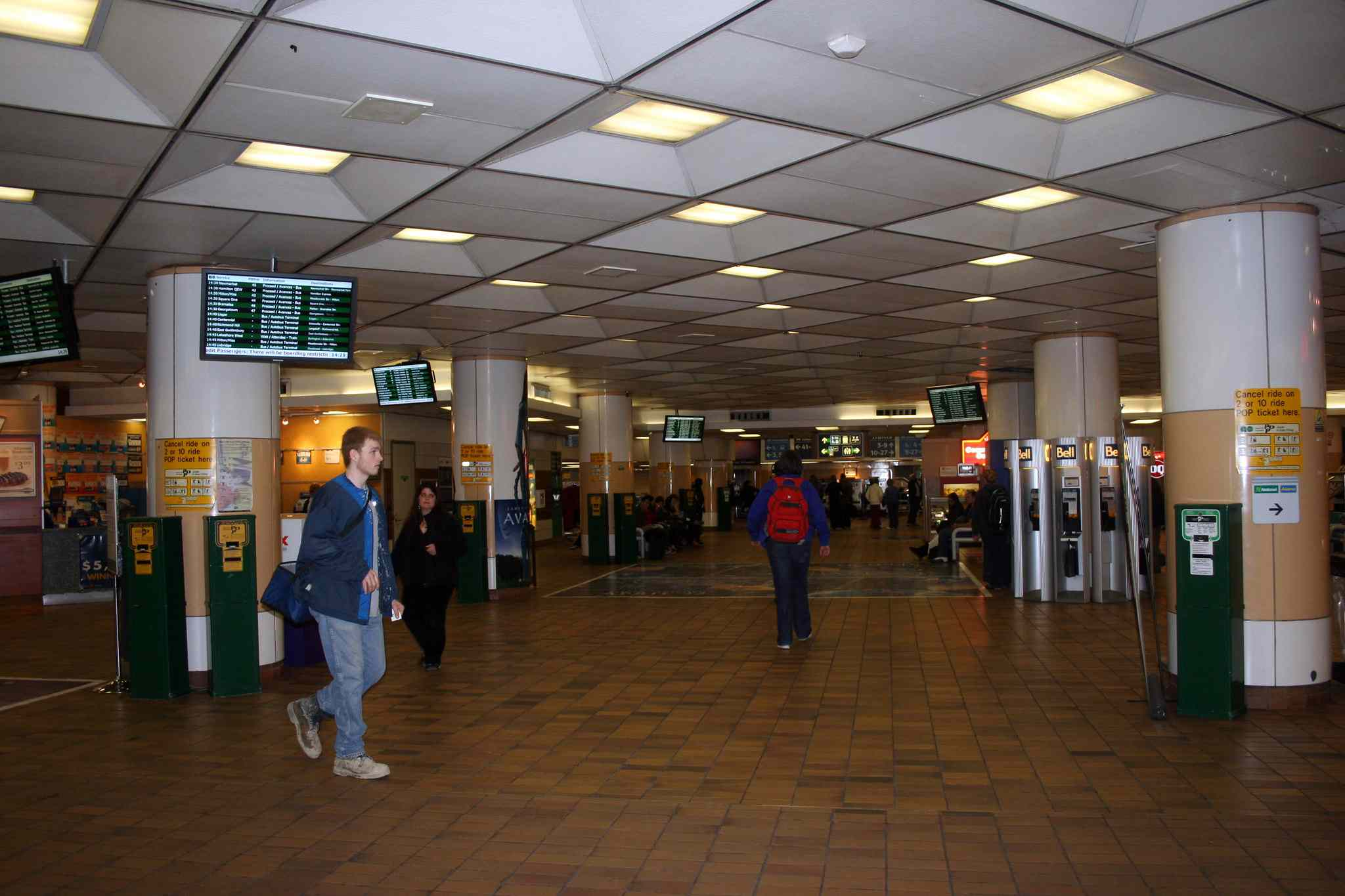 Union Station GO Transit Concourse