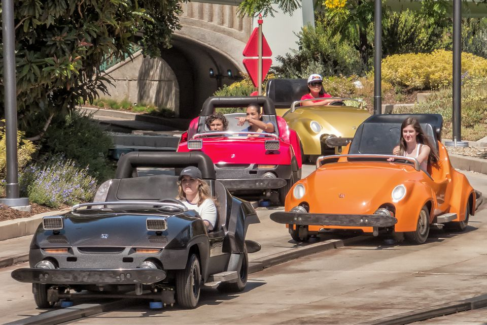 Driving at Autopia
