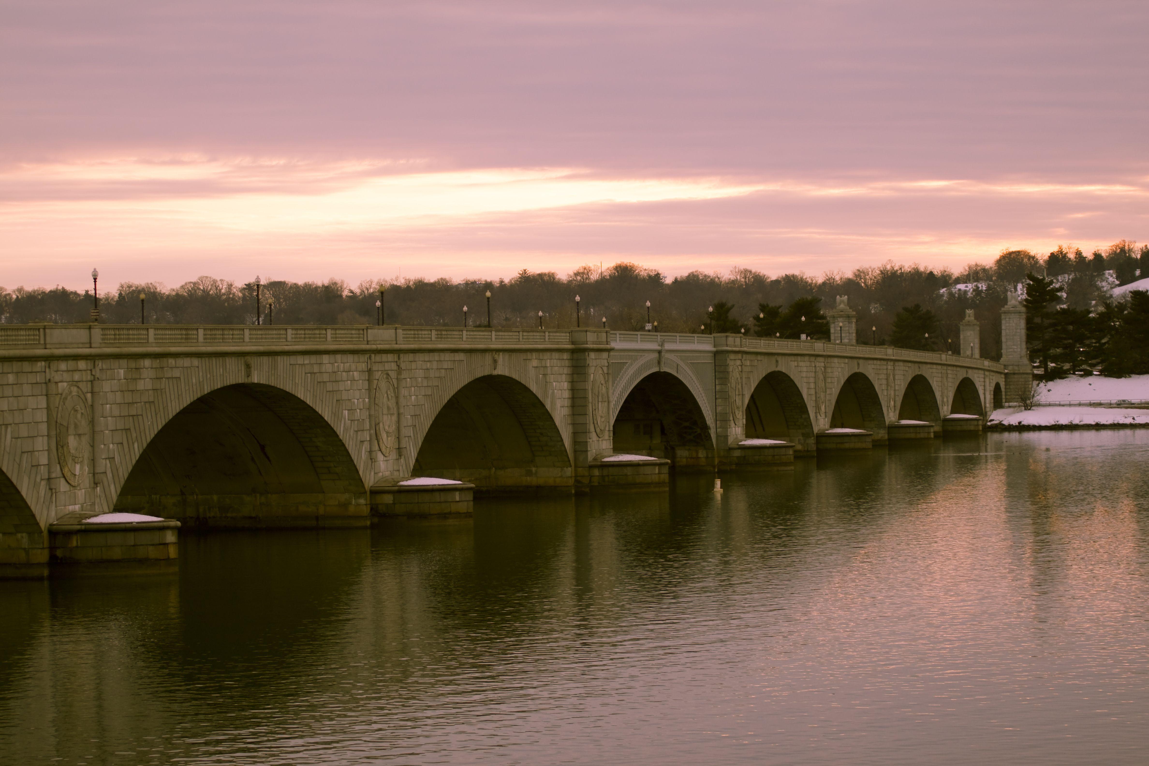 Arlington Memorial Bridge Side View
