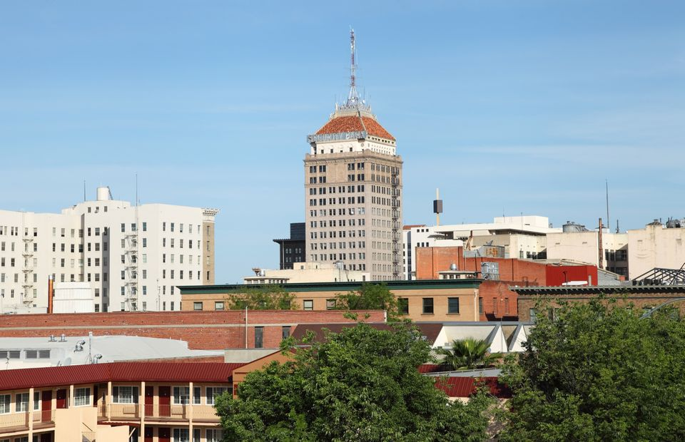 Downtown Fresno Skyline