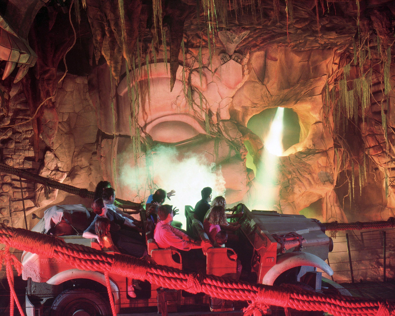 Indiana Jones Adventure Ride Disneyland