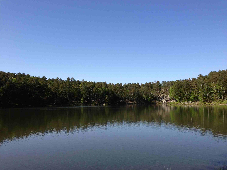 Lake Sylvia Recreation Area in Arkansas