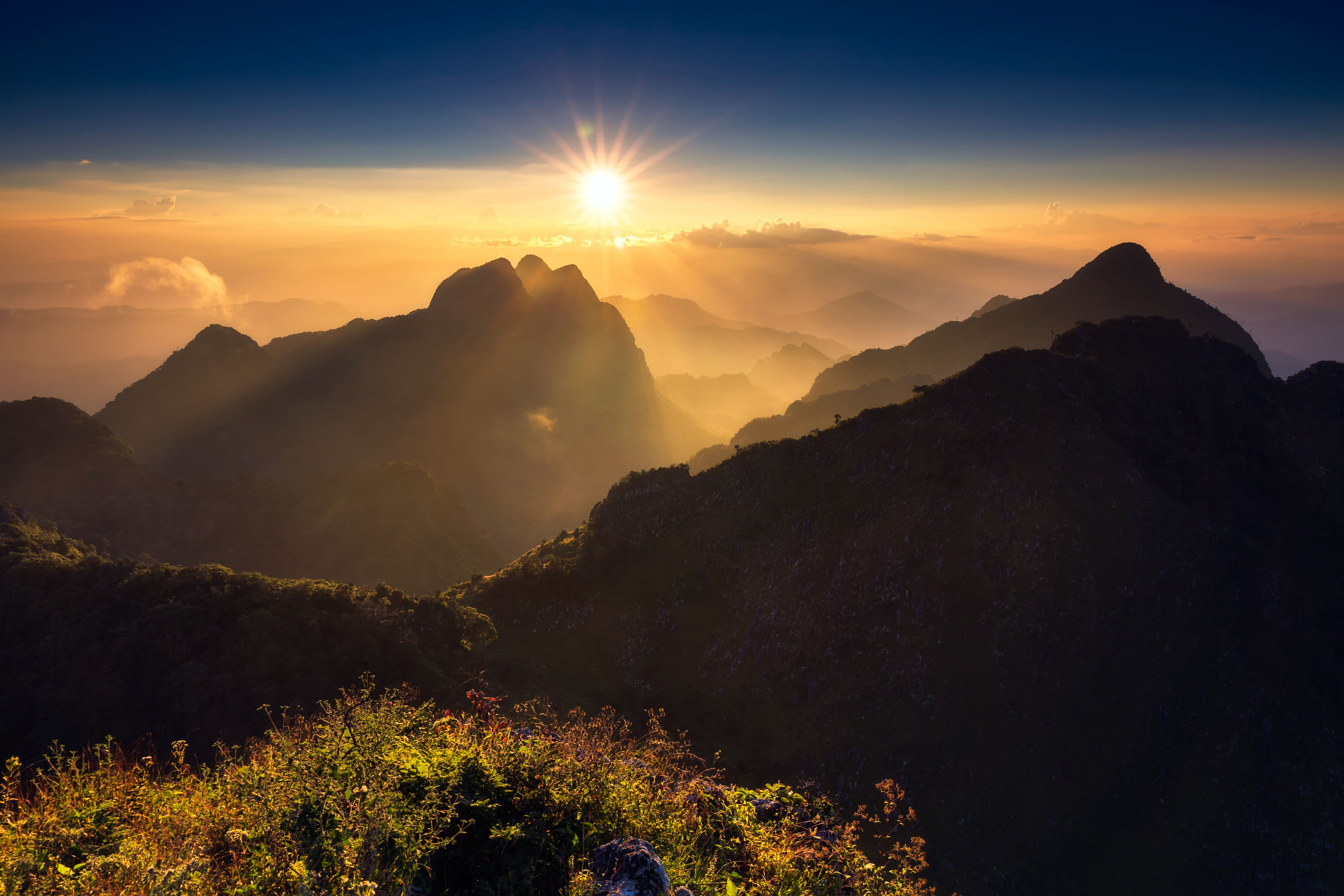 Doi Luang Chiang Dao in Northern Thailand