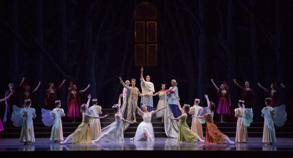 Performance of Cinderella by Oregon Ballet Theatre