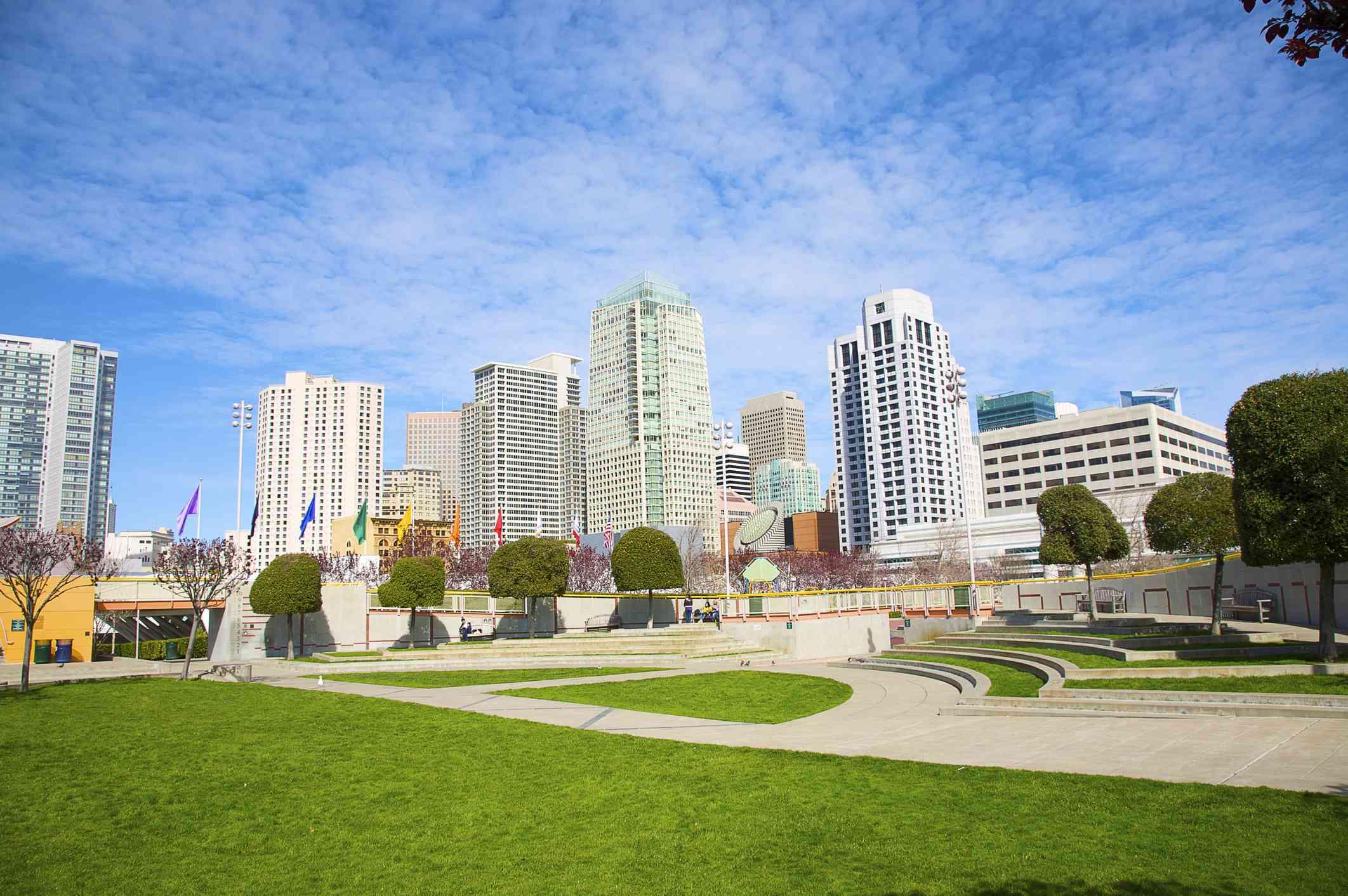 Yerba Buena Gardens in San Francisco
