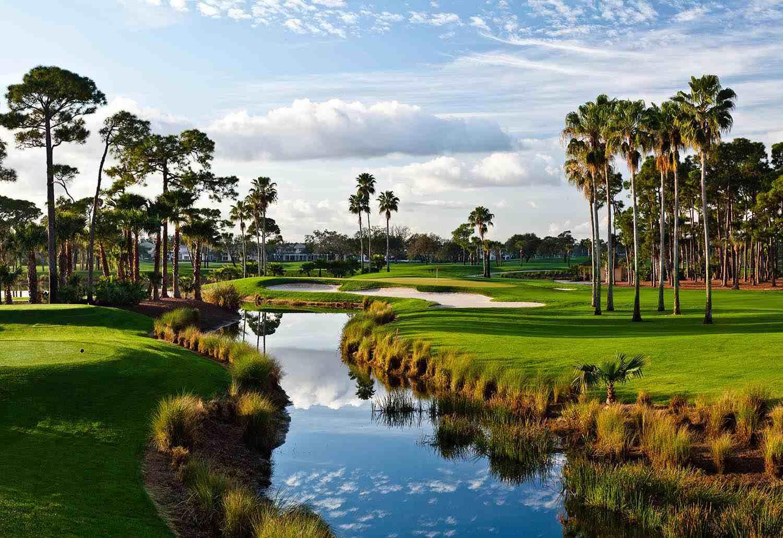 Número 3 en el Campo de Campeones, PGA National Resort and Spa
