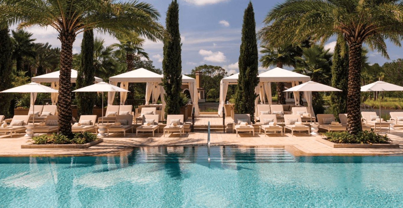 Adults-Only Oasis Pool at Four Seasons Orlando