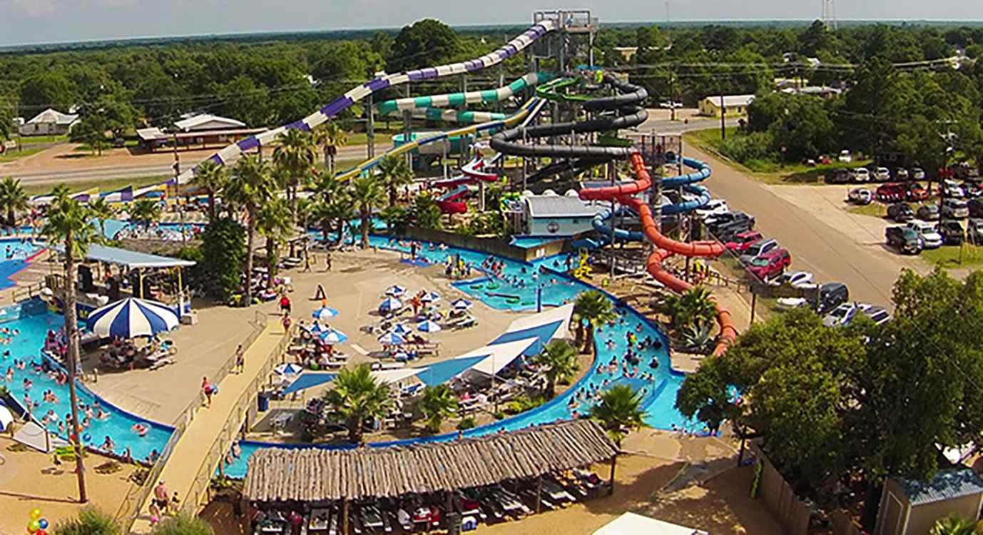 Splashway water park Texas