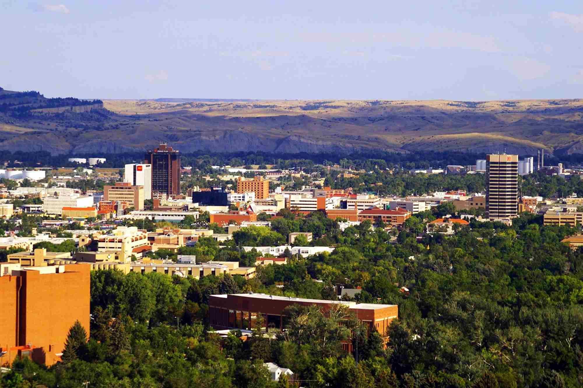 Vista de Billings Montana