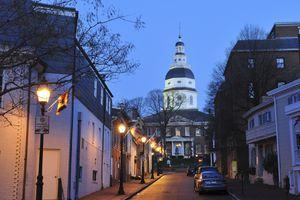 Annapolis at dawn