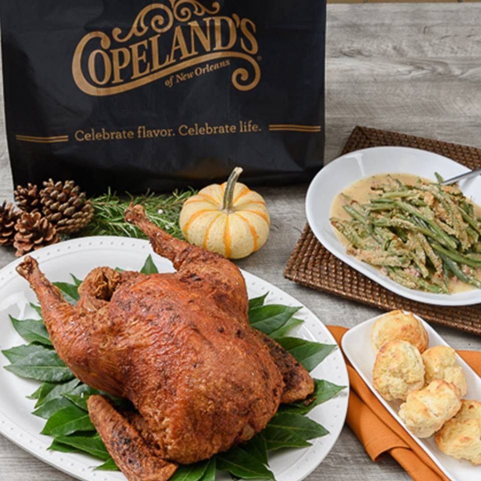 Turkey dinnet at Copeland's of New Orleans