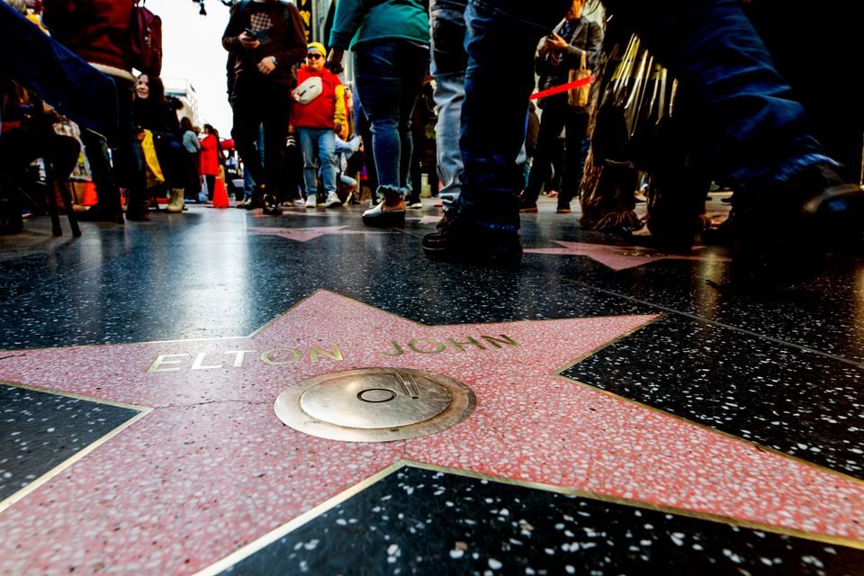 Elton John's star