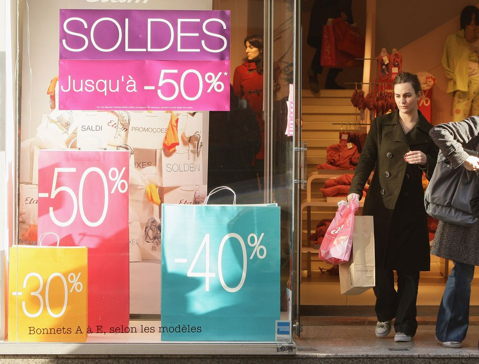 Annual sales in Paris, France