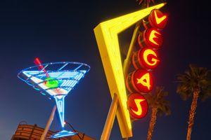 Neon signs in Fremont Street, Downtown Las Vegas